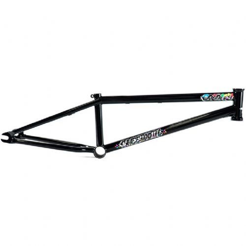 "Colony Sweet Tooth BMX Frame - 20.4"" Gloss Black"